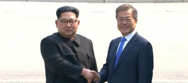Korea-Gipfel: Kim Jong-un und Moon Jae-in führen Abrüstungs-Gespräche - bild.de