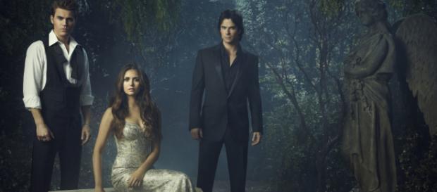 Nina Ian Paul Photoshoot The Vampire Diaries