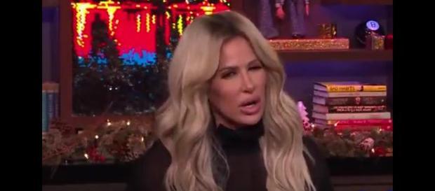 Reality star Kim Zolciak Biermann. - [Watch What Happens Live / YouTube screencap]