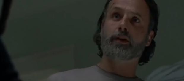 Things will evolve between Rick and Maggie in Season 9. [image source: MOVIEidol - YouTube]