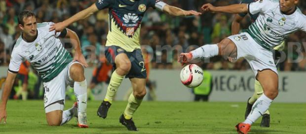 Ya se sabría como jugarían las Águilas el sábado contra Santos.