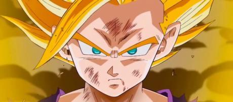 Gohan se transforma e Super Saiyajin 2.