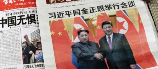 El presidente, Kim Jong-Un se atrevió a cruzar a Corea del Sur