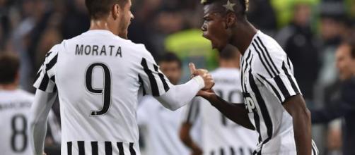 Alvaro Morata e Paul Pogba negli obiettivi della Juve