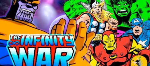 Avengers: Infinity War3 (Vengadores: Infinity War en España) es una película estadounidense de superhéroes de 2018.