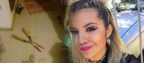 Brenda Barattini cortou órgão do namorado após ele vazar nude dela propositalmente (Foto: Nuevo Dia)