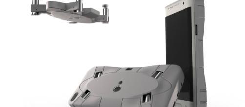 Camera drone clings to your phone - newatlas.com