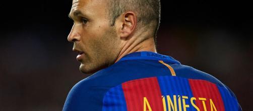 El adiós de Andrés Iniesta del Barcelona