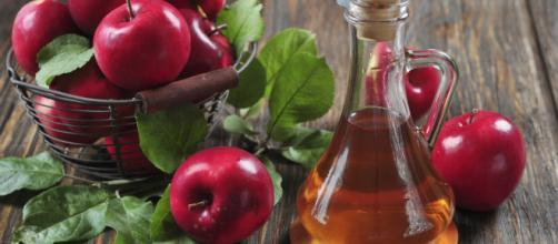 El vinagre de manzanas tiene propiedades curativas.