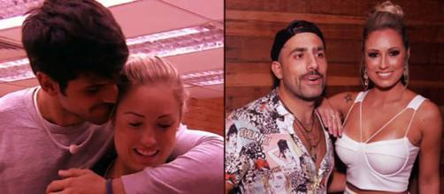 Jéssica e seus relacionamentos durante o programa