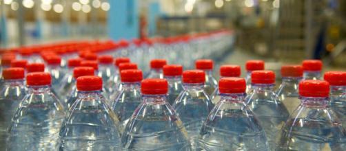 La vendita di acque minerali è in continua crescita
