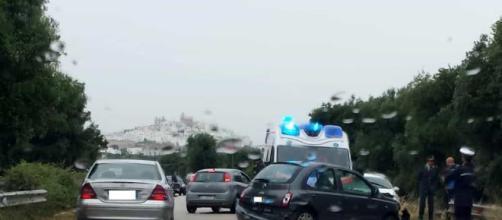 L'incidente sulla Ostuni-Torre Pozzelle - Brindisi Report