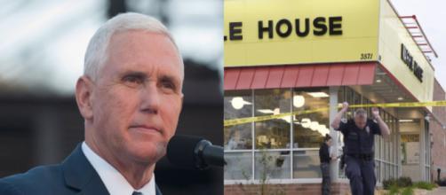 Mike Pence, Waffle House, via Twitter