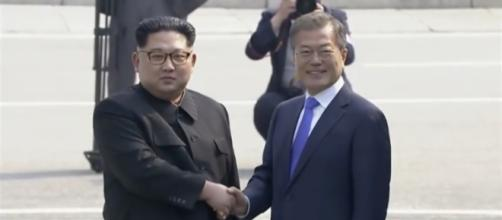North and South Korea held a day-long summit to sign truce to officially end the Korean War [Image source: WashingtonPost/Youtube]