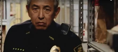 On April 27's 'Hawaii Five-O' it's Dennis Chun who is pushed to desperation as Sgt. Duke Lukela. [Image source: TVPromosdb/YouTube]