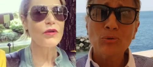 Scontro social tra Heather Parisi e Simona Ventura