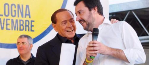 Silvio Berlusconi e MatteoSalvini: la loro intesa ed alleanza continua