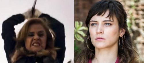 Sophia e Clara em 'O Outro Lado'