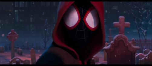 SPIDER-MAN: INTO THE SPIDER-VERSE - Official Teaser Trailer [Image Credit: Sony Pictures Entertainment/YouTube screencap]