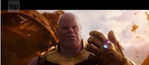 Thanos makes 'Avengers: Infinity War' the most intense yet. - YouTube/WashingtonPost