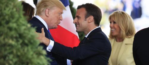 Trump recibe a Macron para conversar sobre el futuro del ... - israelnoticias.com
