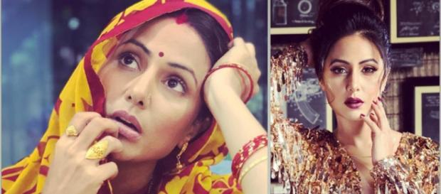 Bigg Boss 11's Hina Khan looks completely unrecognisable in Smart .(Image Credit: Hina Khan/Youtube)