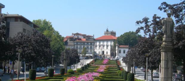 Jardim do Largo da República do Brasil