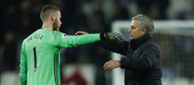 """Mou reta al Madrid: """"Claro que De Gea se quedará aquí, es el mejor ... - besoccer.com"""
