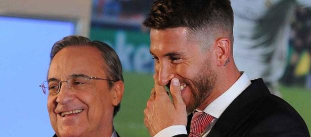 "No vayas al Barça"". Sergio Ramos interviene (y Florentino Pérez paga) - diariogol.com"