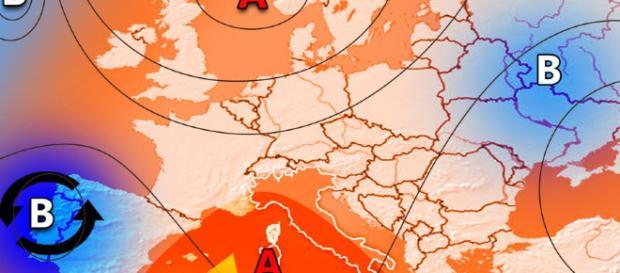 Nuova ondata di caldo. Fonte immagine: ILMETEO.it - ilmeteo.it