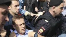 1550 pessoas são presas em protesto anti Putin na Rússia