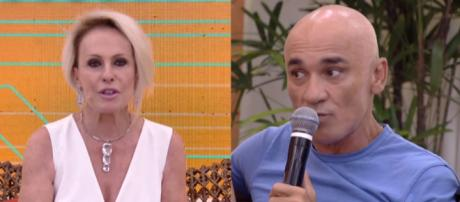 Ana Maria Braga e Ayrton, do ''BBB18''