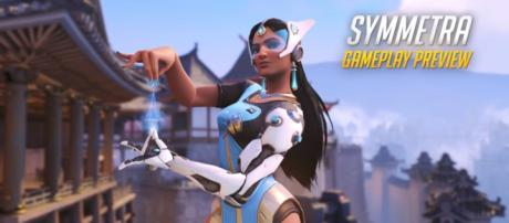 Symmetra Gameplay Preview | Overwatch | 1080p HD, 60 FPS [Image Credit: PlayOverwatch/YouTube screencap]