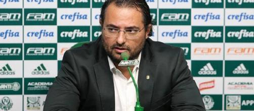 Alexandre Mattos é o diretor de futebol do Verdão