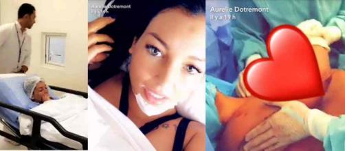 Aurélie Dotremont a succombé aux sirènes de la chirurgie esthétique !