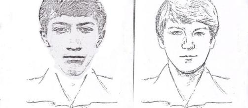 Composite sketches of the Golden State Killer (Image via www.ear-ons.com)