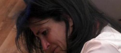 Grande Fratello: Aida Nizar in lacrime