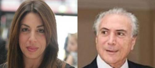 Maristela, uma das filhas do presidente Michel Temer