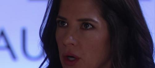 Sam gains more insight into Peter while also bumping into Drew as part of the latest 'GH' episodes. [Image via General Hospital/YouTube]