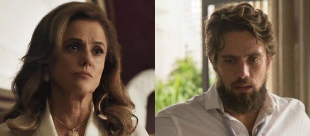 Renato e Sophia voltam a se encontrar em 'O Outro Lado'