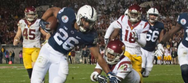 The Giants selected Saquon Barkley with the second overall selection. Image Source: Flickr | pennstatenewa