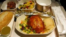 Almorzando en el avión: ¿por qué tan sosa?
