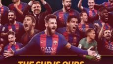 Liga : le fc barcelone domine le deportivo et devient champion d'Espagne.