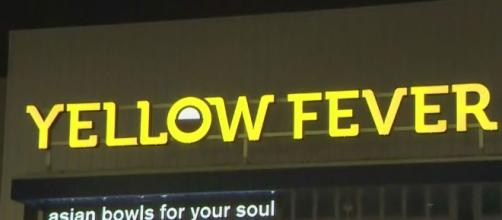 """CBS Los Angeles on Twitter: """"Pan-Asian Eatery Yellow Fever Facing. {Image via Twitter]"""
