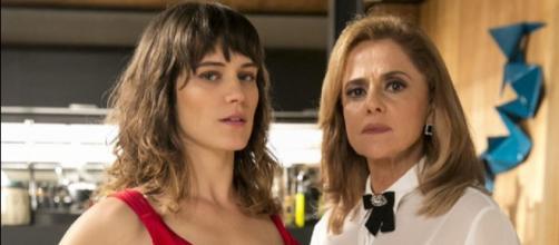 Clara e Sophia em 'O Outro Lado do Paraíso'