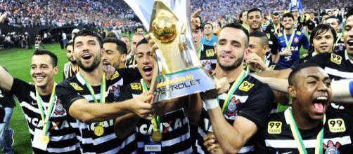 Corinthians campeão brasileiro de 2015.