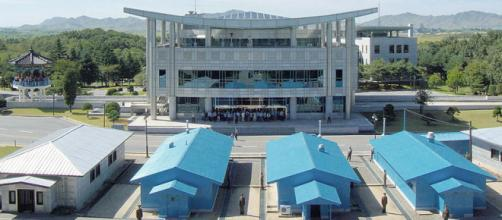 Demilitarized Zone (DMZ) separating North and South Korea (Image credit – yeowhatzup, Wikimedia Commons)