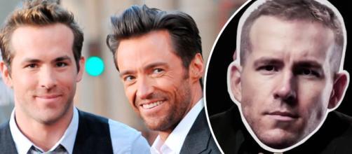 Hugh Jackman y Ryan Reynolds en la alfombra roja