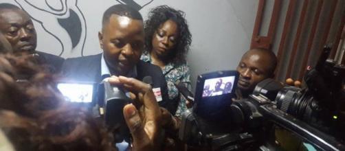 Le président de la LCC Delor Magellan Kamseu