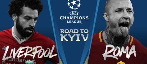 Liga de Campeones, Roma - Liverpool